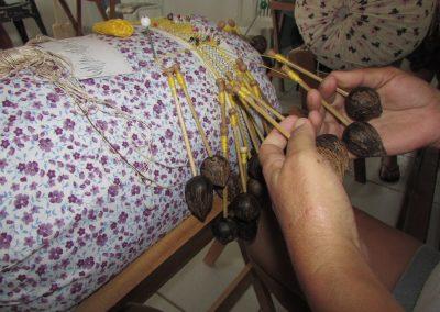 Renda de Bilro – Processo de Confecção