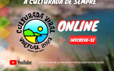 Culturada Viral Virtual 2021 movimenta arte e cultura na Barra do Jucu