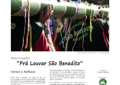 Pra Louvar São Benedito